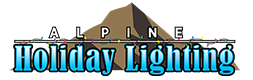 Alpine Holiday Lighting Logo