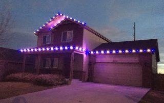 Christmas Lighting installation